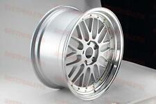 "19"" LM STYLE SILVER/GOLD RIMS WHEELS FITS BMW 3 SERIES 328XI 330XI 335XI E90 E92"
