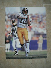 Terry Bradshaw Pittsburg Steelers Football Color Candid Coffee Table Book Photo