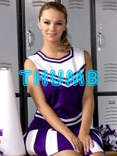 Ashlynn Brooke - 8x6 inch Photograph #131 in Sexy Cheerleader Uniform