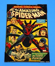 "Marvel The Amazing Spider-Man #135 19"" x 13"" Wooden Poster NEW"