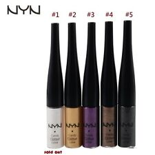 NYN Waterproof Glitter Liquid Eyeliner- Brush Tip- Choose 1 Color By Message