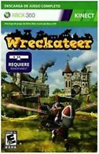 Wreckateer Xbox 360 Full Game Download Card  Brand New - Fast Ship - In Stock
