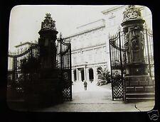 Glass Magic lantern slide BARBERINI PALACE ROME C1890 ITALY