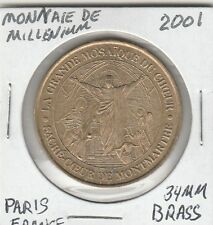 LAM(A) Token - Monnaie de Millenium - Paris, France - 34 MM Brass