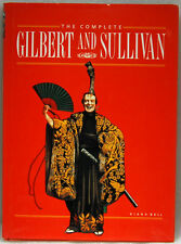 Complete Gilbert & Sullivan by Diana Bell, Coffee Table Book  (1989, Hardcover)