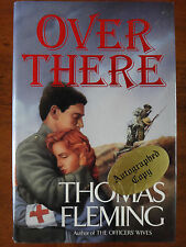 SIGNED Over There by Thomas Fleming (1992) HCDJ 1st Edition