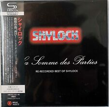 Shylock-La Somme des Parties French prog Japanese SHM-CD Mini lp