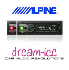 Alpine CDE-190R Car Radio CD Receiver USB Bass Engine AuxIn Car Stereo Red Green