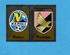 PANINI CALCIATORI 2002-03- Figurina n.538- NAPOLI+PALERMO - SCUDETTO -NEW