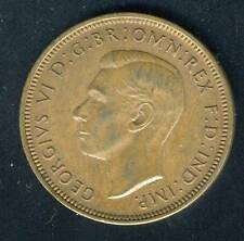 Great Britain 1944 Half Penny King George Vi Coin As Shown