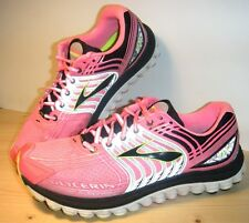 WOMEN'S BROOKS GLYCERINE 12 SUPER DNA RUNNING SNEAKERS PINK/GRAY/BLACK SZ 10.5