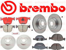BMW E70 X5 2012-2014 Xdrive50i Best Value Complete Brake Pads KIT With Rotors