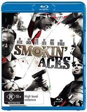 Smokin' Aces Blu Ray New/Sealed Region B Australian Version  smokin