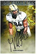 Gabe Holmes AUTOGRAPH PURDUE BOILERMAKERS 6X4 PHOTO SIGNED