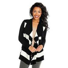 NEW Love, Carson by Carson Kressley Sweater Knit Long Sleeved Open Cardigan - M