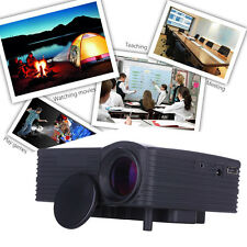 1080P Full HD LCD Home Cinema Theater Multimedia LED Projector AV VGA USB HDMI