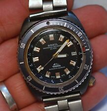 Extra rare BREIL MANTA Professional Depthometer Diver's watch working condition