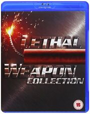 Lethal Weapon Collection 1-4 [Blu-ray] *NEU* DEUTSCH [Region Free] 1+2+3+4