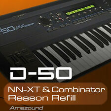 ROLAND D50 REASON REFILL SAMPLES for NNXT & COMBINATOR