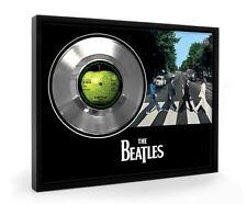 Beatles Something Framed Silver Disc Display Vinyl (C1)