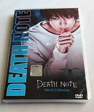 DEATH NOTE The UNCUT Live Action Movies Anime DVD Collection Box Set ENG DUB