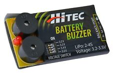 HiTEC 44210 Battery Buzzer Low-Voltage Battery Alarm