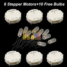6x GMC Chevy Cadillac Cluster Stepper Motors Switec Juken X27.168 & 10 BULBS