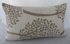 Top Quality Beige and Ivory Trees Rectangle Oblong Cushion Cover 30x50