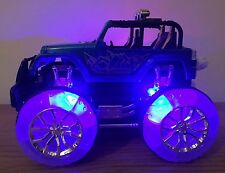 4x4 Off Road Monster Truck Recargable Radio Control Remoto Car Stunt música 4wd