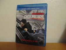 Mission: Impossible - Ghost Protocol (Blu-ray/DVD, 2012, 2-Disc Set, + UV Code