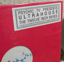 "PSYCHIC TV PRESENTS ULTRAHOUSE ~ 12"" MIXES ~ HOMEBOY POSSE & Adam & Eve ~EP~ S/S"