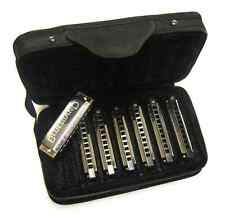 Hohner Blues Harmonica Band 7 Piece Diatonic Set