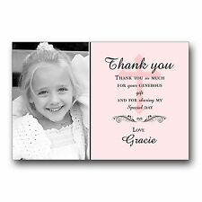Personalised Thank you Cards 1st First Holy Communion H115 Add Your PHOTO
