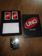 Uno Deluxe Game -  in a Tin - Complete
