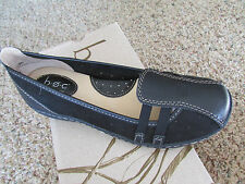 NEW BORN B.O.C MAIKEN BLACK SLIP ON LOAFER SHOES WOMENS 6 FREE SHIP