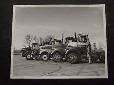 1970's FORD TRACTOR TRAILER CABS 8 X 10 PHOTO