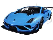 LAMBORGHINI GALLARDO GT3 FL2 2013 BLUE 1/18 MODEL CAR AUTOART 81359
