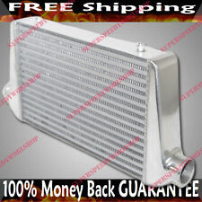 "Universal Intercooler 25X12X3 3""Inlet/Outlet Toyota Acura BWM Audi Honda Mazda"