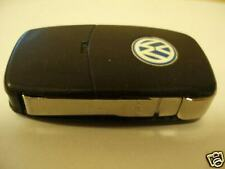 VW VOLKSWAGEN GOLF MK4 BORA & SKODA &SEAT ETC 2 BUTTON REMOTE FLIP UNCUT KEY FOB