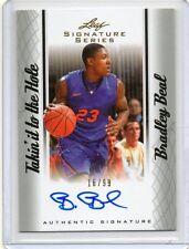 (E22) 12-13 Bradley Beal Leaf Signature Series TAKIN IT HOLE Auto RC #D 16/99