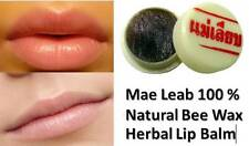 2X Mae Leab 100 % Natural Bee Wax Herbal Lip Balm