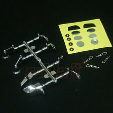 ABC Hobby Side Rearview Mirror Set Chrome Genetic 4WD RC Cars M-Chassis #66201