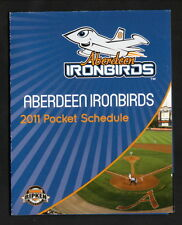 2011 Aberdeen IronBirds Schedule--Harford Community College