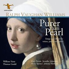 Ralph Vaughan Williams: Purer Than Pearl - songs for voice, piano and violin