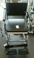 MOBILE WHEELED COMMODE CHAIR