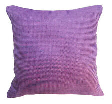Eh Rough Thick Cotton Blend Braid Pattern Cushion Cover/Pillow Case Custom Size