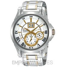 **NEW** SEIKO PREMIER KINETIC PERPETUAL GOLD WATCH - SNP022P1 - RRP £595