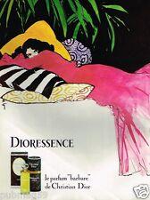 Publicité advertising 1979 Parfum Dioressence Christian Dior par René Gruau