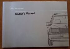 1990 Mercedes Benz 300TE/300 TE Owners Manual-New Old Stock - W124 Discontinued