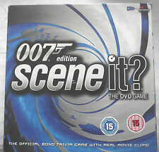 SCENE IT / 007 EDITION OFFICIAL JAMES BOND DVD GAME / SCREEN LIFE / COMPLETE